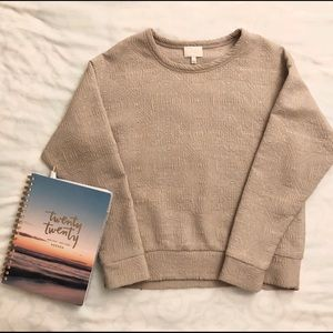 Wilfred patterned sweater